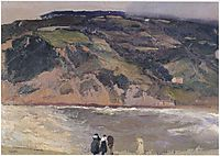 The Breakwater at San Sebastian, 1917, sorolla