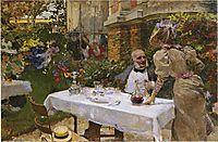 Cafe in Paris, 1885, sorolla