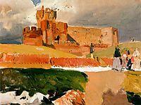 Castle of La Mota, Medina del Campo, sorolla