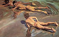 Children on the Beach, 1910, sorolla