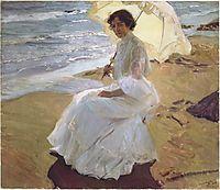 Clothilde at the Beach, 1904, sorolla