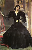 Clotilde in a Black Dress, sorolla