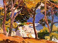 Coast at Santa Cristina, 1914, sorolla