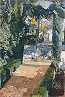 Courtyard, 1910, sorolla