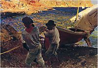 End of the Day, Javea, 1900, sorolla