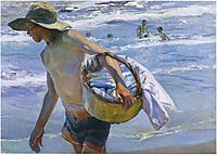 Fisherman in Valencia, 1904, sorolla