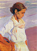 Fisherwoman from Valencia, sorolla