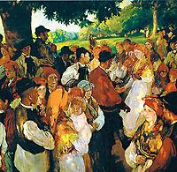 Galician party, sorolla