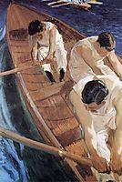 In the Racing Shell, 1910, sorolla