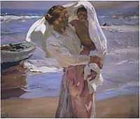 Just Out of the Sea, 1915, sorolla