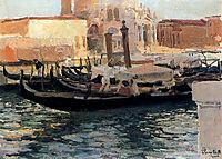 La Salute, Venice, 1910, sorolla