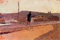Landscape with Figure, sorolla