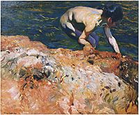 Looking for Shellfish, 1905, sorolla