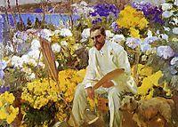 Louis Comfort Tiffany, 1911, sorolla