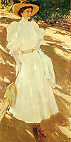 Maria at La Granja, 1907, sorolla