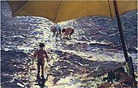 Midday at Valencia beach, 1904, sorolla