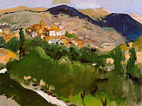 Mountains at Jaca, sorolla