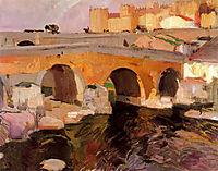 The Old Bridge of Avila, 1910, sorolla