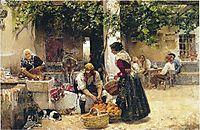 Orange seller, 1891, sorolla