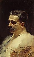 Portrait of Antonio Elegido, 1893, sorolla