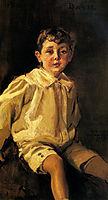 A Portrait of Basil Mundy, 1908, sorolla