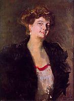 Portrait of Dona Elena Ortúzar, sorolla