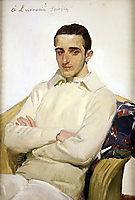 Portrait of José Luis López de Arana Benlliure, c.1918, sorolla