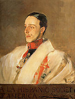 Portrait of King Alfonso, sorolla