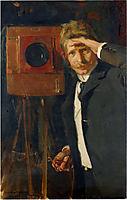 Portrait of photographer, Christian Franzen, 1901, sorolla