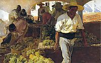 Preparing Raisins, 1900, sorolla