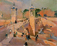 Puente de Real, 1908, sorolla