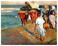 Pulling the Boat, 1916, sorolla