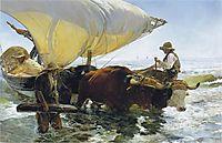 Return from Fishing, 1894, sorolla