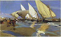 Return From Fishing, 1908, sorolla