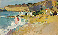 Rocks and the Lighthouse, Biarritz, sorolla