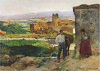 Ruins of Bunol, 1894, sorolla