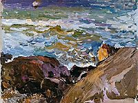 Sea at Ibiza, 1904, sorolla