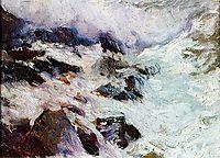 Sea and rocks - Jávea, 1900, sorolla