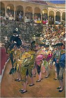 Seville, the Bullfighters, 1915, sorolla