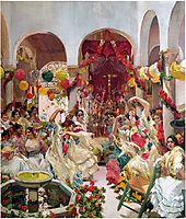 Seville, the Dance, 1915, sorolla