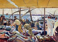 The Tunny Catch, 1919, sorolla