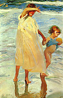 The two sisters, 1909, sorolla