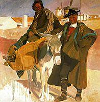Types of La Mancha, 1912, sorolla