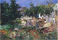 Valencian fiesin an orange grove, 1898, sorolla