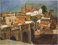 View of Plascencia, 1917, sorolla
