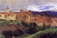 View of Segovia, sorolla