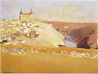 View of Toledo, 1912, sorolla