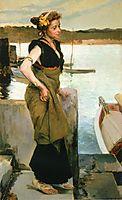 Waiting, 1888, sorolla