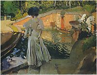 Watching the Fish, 1907, sorolla