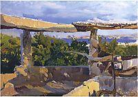 The waterwheel, Javea, 1900, sorolla